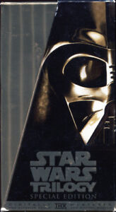 STAR WARS TRILOGY * SPECIAL EDITION * BOX SET * VHS *