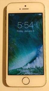 Gold IPhone 5s 16gb Bell/Virgin great used condition OBO