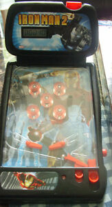 MINT LIKE IRON MAN 2 MINI TABLETOP PINBALL FOR SALE