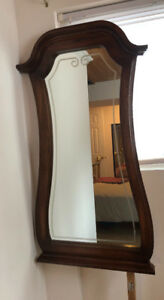 Large solid wooden mirrors
