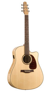 Seagull Performer CW Flame Maple HG QI by Godin