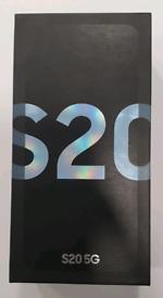 128gb Brand New Samsung Galaxy S20 5G Duos (Dual Sim) Unlocked Open To