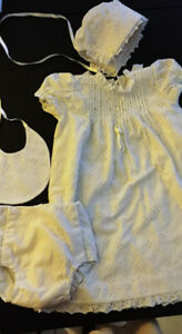 Baptism/Christening outfit (Girls 0-3 months)
