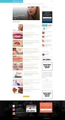 Established Makeup Store Online Business Website For Sale Mobile Friendly