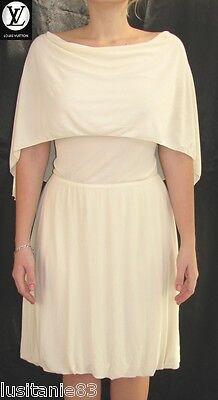 Louis Vuitton - Robe Mousseline Creme Runaway Dress Decolleté Dos 38/40/42 -neuf