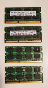 Apple 4GB 1333 Mhz DDR3 memory chips