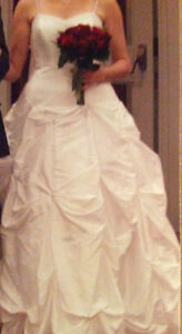 Wedding 'Cloud' style gown with all accessories