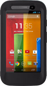 OtterBox Defender Series Case for Moto G-Retail Packaging-Black