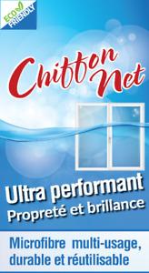 Chiffon net (paquet de 10 chiffons)