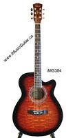 Sunburst acoustic guitar brand new iMG384 iMusicGuitar