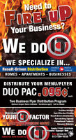 Need to FIRE UP your business?  We Do It!