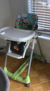 Chaise haute peg perego parfaite état