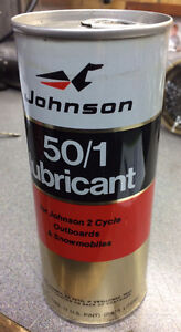 Vintage Johnson oil can