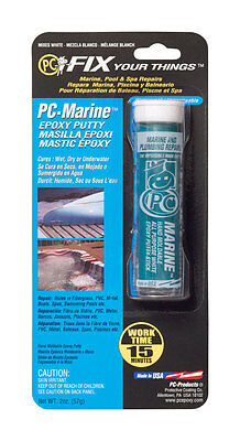 Pc Products 25567 Pc-marine Moldable Epoxy Putty 2 Oz Stick White