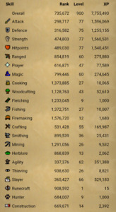 Old School Runescape Account