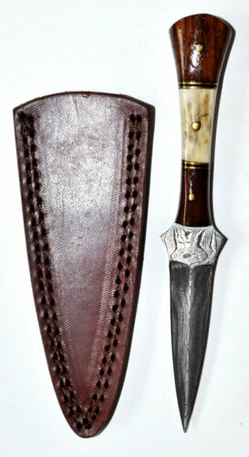 """Baby Stag Damascus Athame 7"""" Wholesale Wiccan Witchcraft Supply Store"""