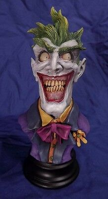 The Joker resin model kit bust sculpted by Gabe Perna