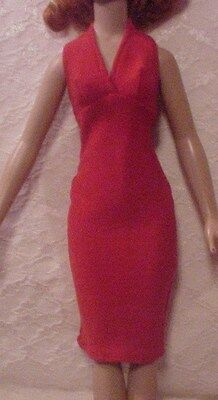 "Red Halter Dress 4 18"" Kitty Collier or Miss Seventeen"