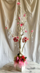 RENT MANZANITA TREE White 4ft for Wedding Sweet 16 Debut Decor