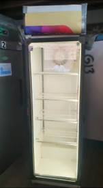 Norcool commercial drinks display cooler fully working