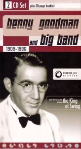 BENNY GOODMAN BIG BAND - Classic Jazz Archive (Double CD Set) NEW & SEALED