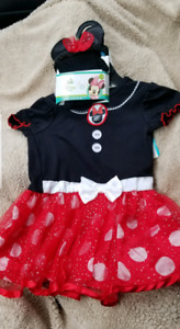 Girls minnie mouse dress/costume, and others