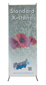X-stand banner - for your tradeshow or presentation London Ontario image 1