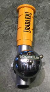 RARE MOOSEHEAD RADLER DRAFT BEER TAP HANDLE