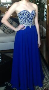 Royal Blue Prom Dress London Ontario image 1