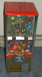 1980's Mr. 'T' (THE A TEAM) Gumball Machine Display Card Rare