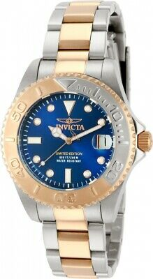 Invicta Swiss Women's Pro Diver Rose Gold Limited Two Tone Stainless Steel Watch