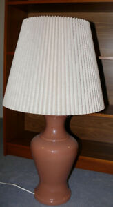 Large retro table lamps, $30 each