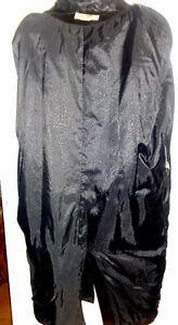 Vtg LONG BLACK LEATHER TRENCH COAT UNISEX XL XXL 18 20 Oakville / Halton Region Toronto (GTA) image 8