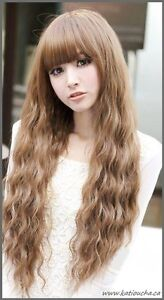 Long Wavy Curly High Quality Wig 55-65cm,black,brown,light brown Yellowknife Northwest Territories image 5