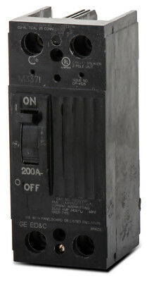 Ge Tqd22200wl 200a 240v 2p 10ka Lug-lug Circuit Breaker