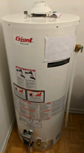 Giant 40 gallon conventional gas water heater tank