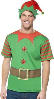 MENS ELF INSTANT KIT CHRISTMAS OUTFIT  - Mens Elf Outfit