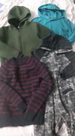 Boys bundle 8-9 jacket jumpers onesie works out 50p each
