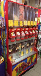 Distributrice de bonbon en vrac