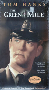 The Green Mile - Tom Hanks with Bonus Footage Brand New VHS