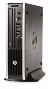 HP Quad Core Desktop Computer 500 GB HDD 4 GB Ram Win 7