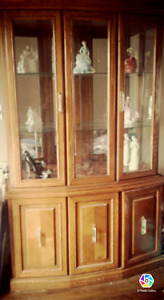 Moving sale - Maple China Cabinet