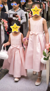 Wedding - Flower girl dresses and shoes