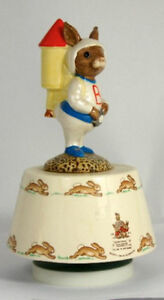 "Royal Doulton Bunnykins 1984 ""Fly Me To The Moon"" West Island Greater Montréal image 5"