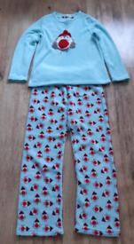 Womens fleece pyjamas size 10-12