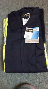 Fire retardant 4xl uninsulated coveralls