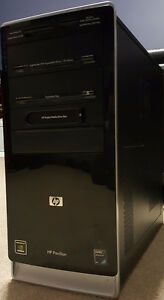 HP Pavilion a6607c PC and Monitors