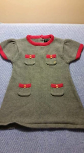 Nautica Toddler Cotton Dress Size 24mts,EUC