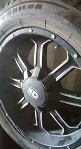Ford 150 6bolt rims and 90% rubber