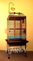 Cage Neuve Noir pour perroquet, gris d'affrique, cacatoes, amazo